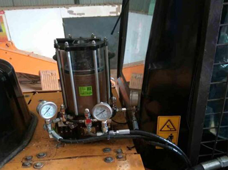 Centralized lubrication System of Sany Excavator